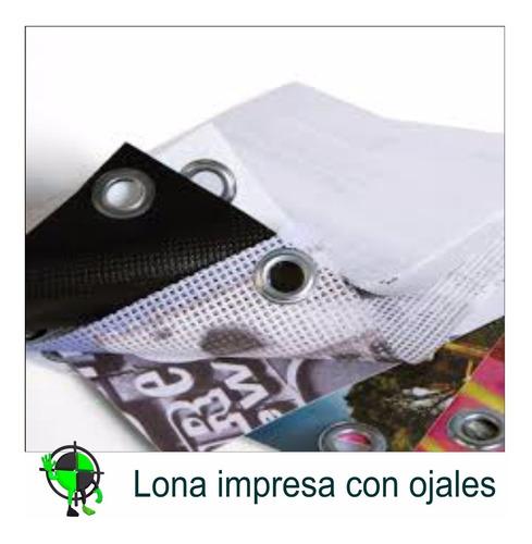 lona banner impresa con ojales full colorbaires ploteos 1x1m