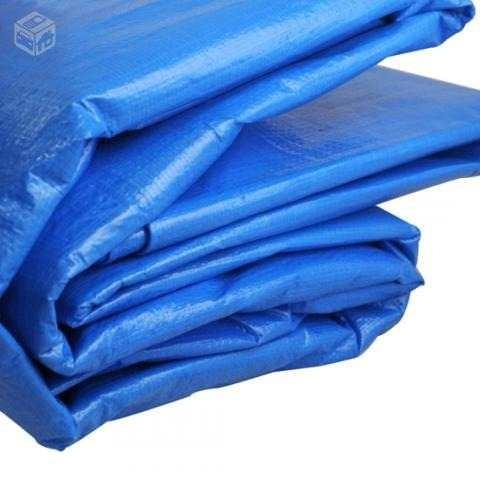 lona caminhão azul ( 100grs p/m2) 3x4 codte17959