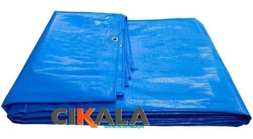 lona capa proteção cobertura de piscina prática ck300 4x3 mt
