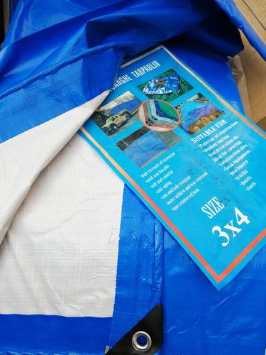 lona carpa multiuso calidad superior 3x4 metros impermeable