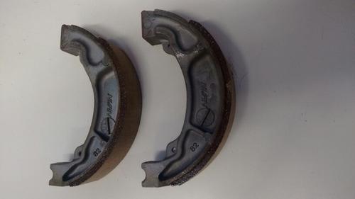 lona de freio traseira original honda cg125/150 todas