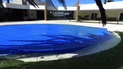 lona de piscina 6,5 x 3,5 capaforte. proteção e cobertura