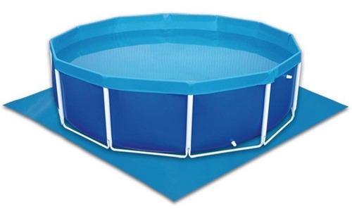 lona de proteção forro p/ piscina 5500 litros capa de fundo