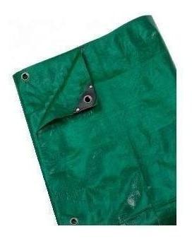 lona de pvc reforzada verde 4mt x 6mt codigo lr4x6