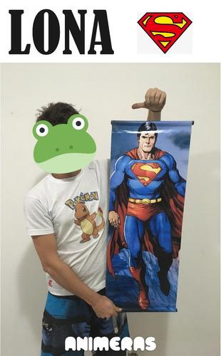 lona de superman dc para colgar - animeras