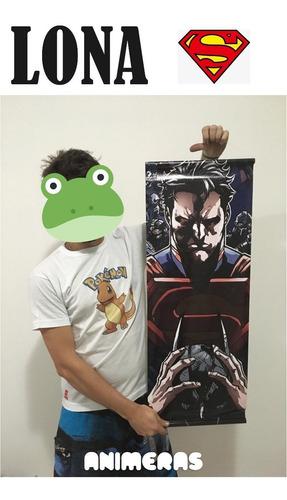 lona de superman  para colgar - animeras