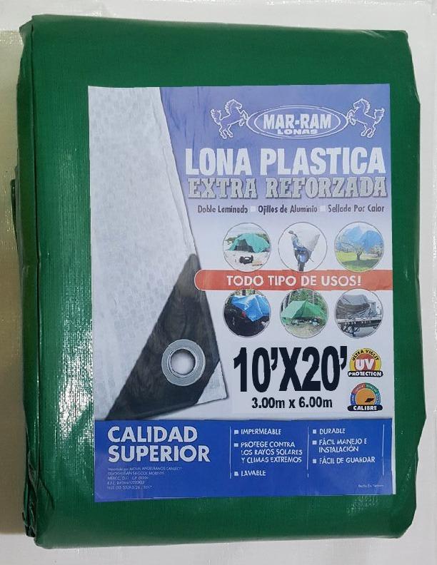 Lona De Uso Rudo 3.00x6.00 M (10x20 Ft) Oferta!! - $ 465.00 en ...