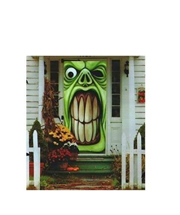 Lona Duente Verde Para Puerta Halloween Decoracion Grenbrier