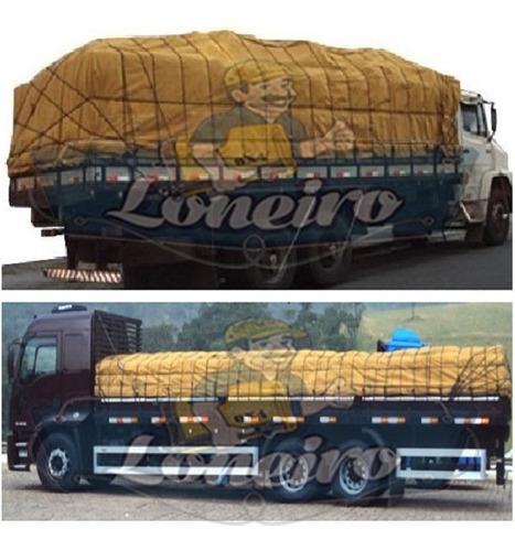 lona encerada 10x5 mt algodão caminhão graneleiro truck toco