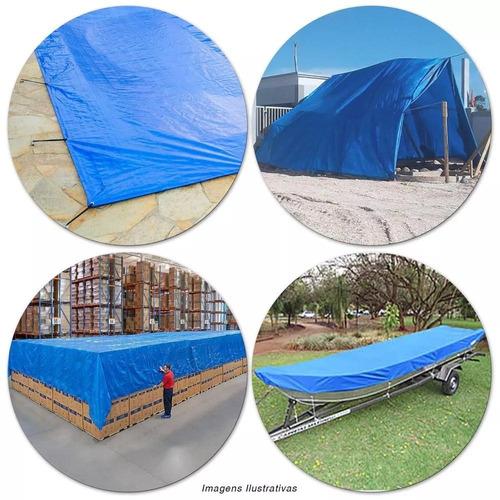 lona encerado multiuso camping 3x2m azul 67700 belfix