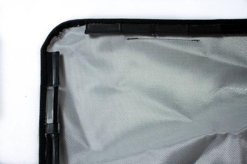 lona estr aluminio cobertor toyota hilux 2016 2017 cab doble