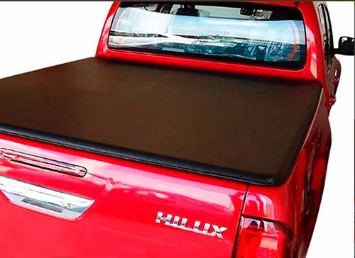 lona estruc aluminio cobertor toyota hilux 2016 2017 cab sim