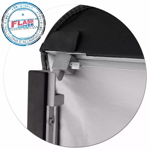 lona estructura aluminio flash cover s10 2012+ envio gratis