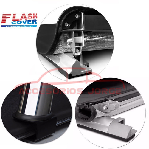 lona estructura de aluminio flash cover amarok envio gratis