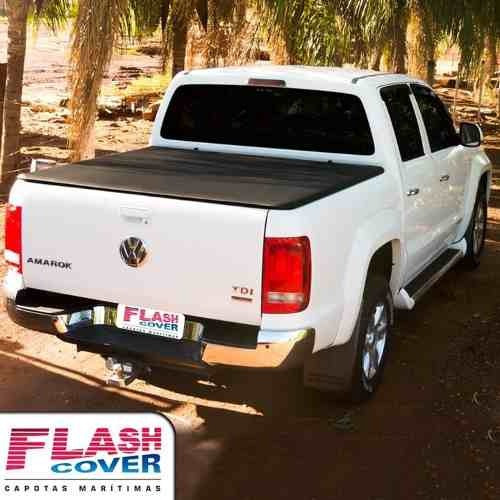 lona flash cover force amarok ranger hilux s10 frontier