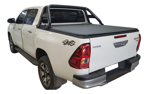 lona flash cover force p/ toyota hilux 2016 2018 2019 2020