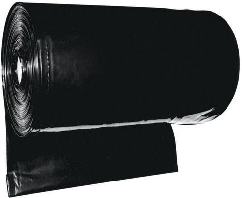 lona impermeavel preta plastica premium 8x100 ref150 70 kg
