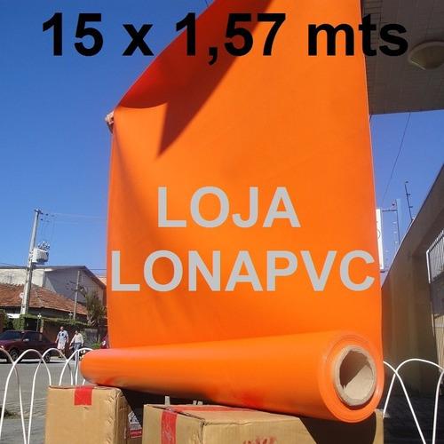 lona laranja pvc tatame 15 x 1,57 m mma brinquedos infláveis