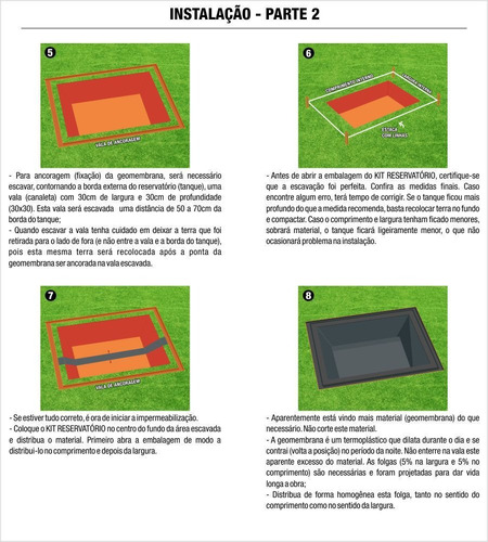 lona manta geomembrana pead 0,5mm tanques, lagos 5 x 4 mts