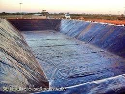 lona manta para reservatório de água-largura:14mts-preço m²