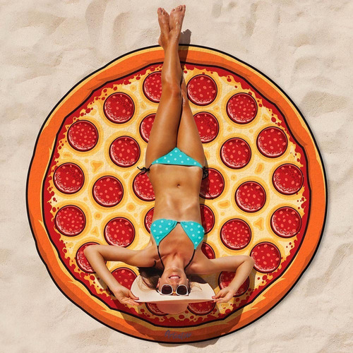 lona manta playa sol verano diseño artentino redonda gigante