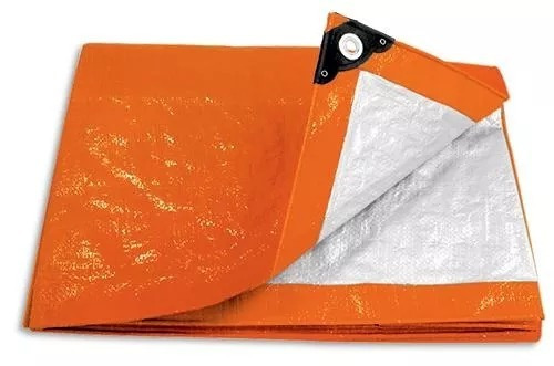 lona naranja 4 x 5 mt pretul 23758