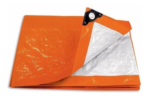 lona naranja 5 x 6 mt, pretul 23760