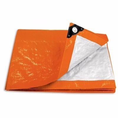 lona naranja 6 x 12 mt pretul a23761 envío gratis