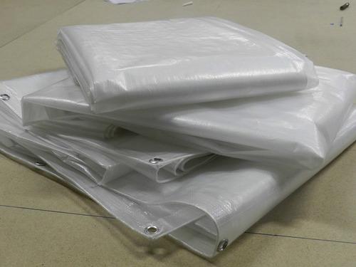 lona para cobertura de pergolado 200 micras -  4x3