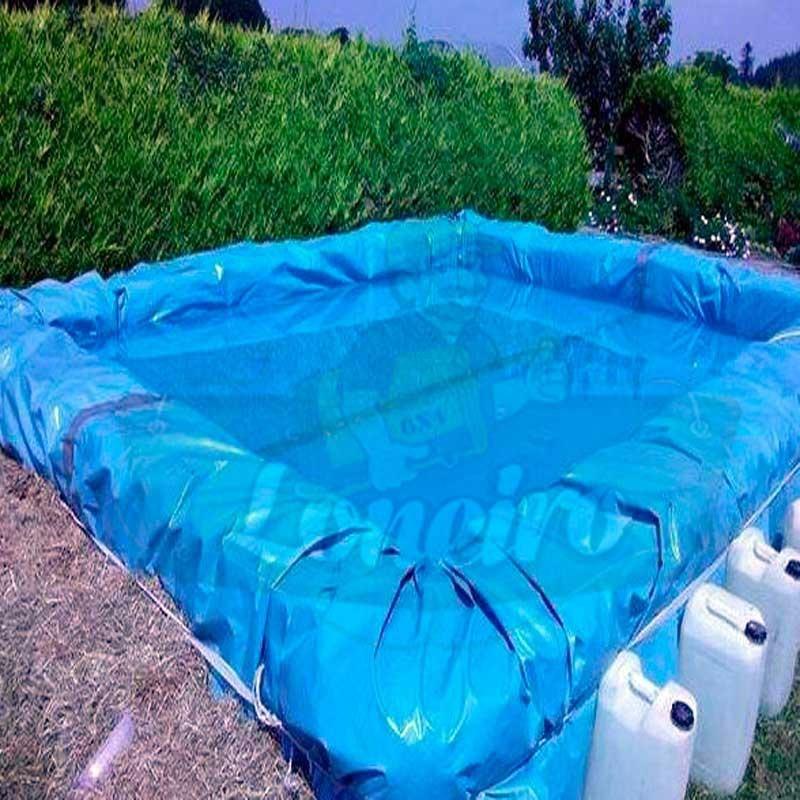 Lona para lago tanque artificial cisterna psicultura 5x4 5 for Piscina 5x4