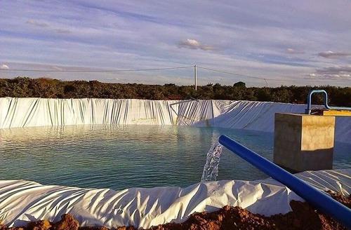 lona para tanque de peixes dupla face 12x50 200 micras 86 kg