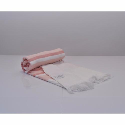 lona playera mediterránea c/toalla 90x180cm 100%algodón.