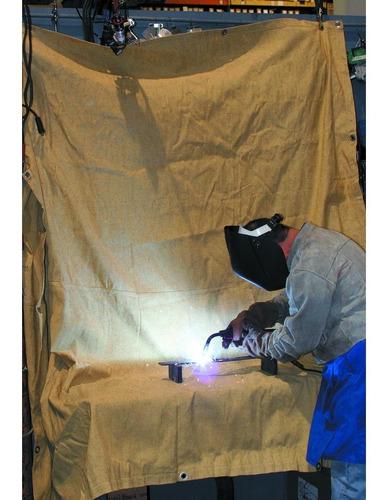 lona p/soldar de 4 x 6 pies para proteccion para equipo