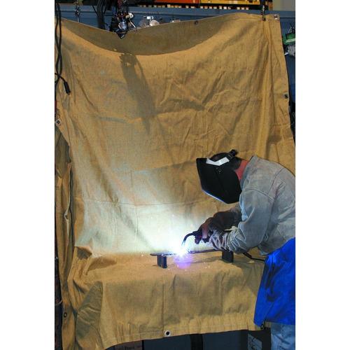 lona p/soldar de 6 x 8 pies fibra de vidrio professional