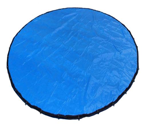 lona redonda 7,5x7,5 diâmetro capa piscina lago impermeável