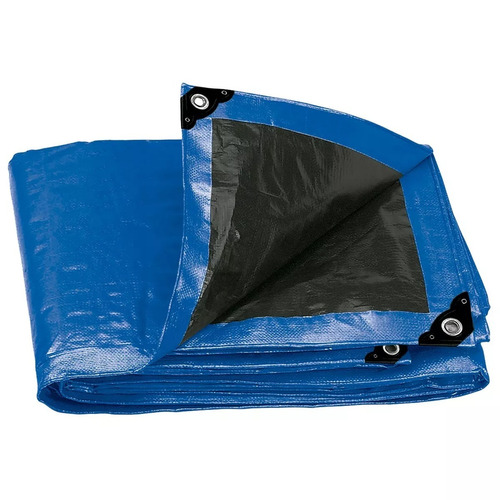 lona reforzada azul 2 x 3 mt truper 15369