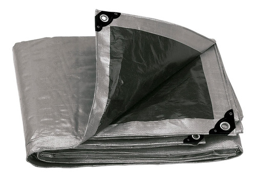 lona reforzada gris 3 x 5 mt truper 10771
