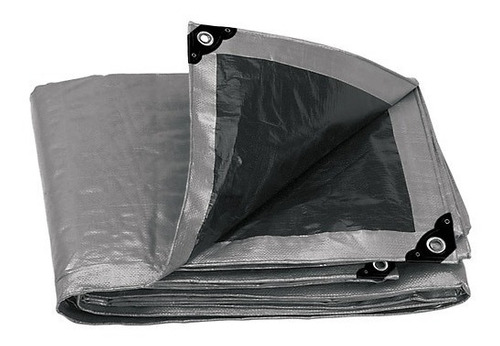 lona reforzada gris 3 x 5 mt truper a10771 .