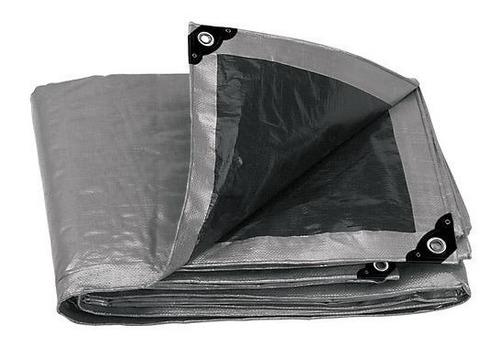 lona reforzada gris 6 x 9 mt truper 10778