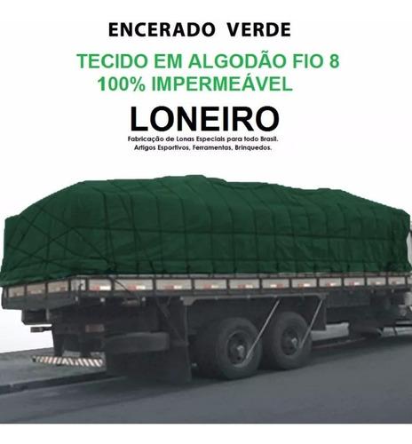 lona ripstop 7x5 encerado algodão caminhão toco normal truck