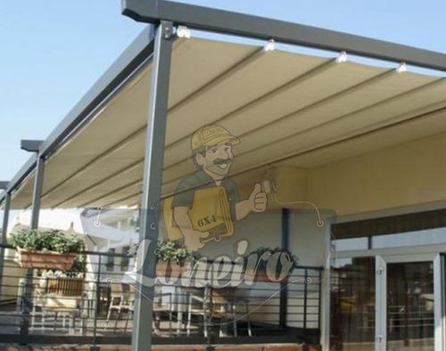 lona ripstop bege impermeável sombra multi-uso shade 5x7 mts proteção sol chuva granizo tenda tela toldo garagem carro