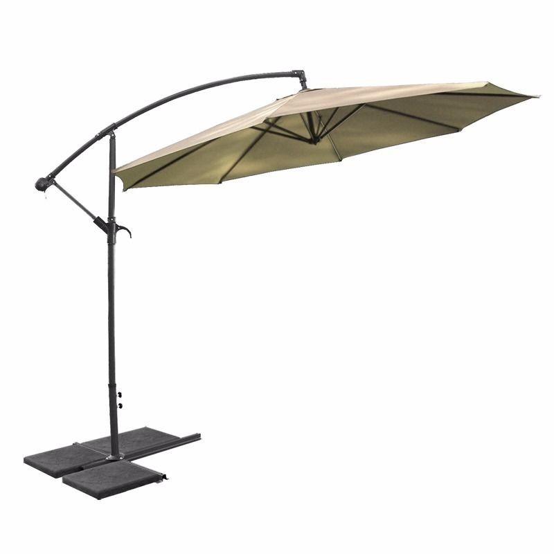 Lona sombrilla para jardin portatil 3 mts vp1000m for Sombrillas grandes para jardin