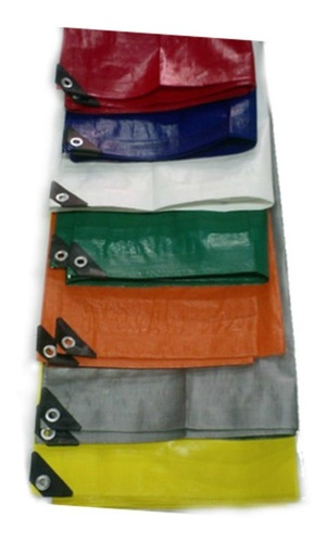 lona super reforzada 4x5 mts varios colores impermeable