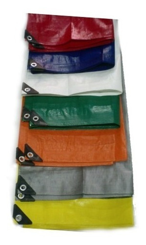 lona super reforzada impermeable 3x9 mts varios colores