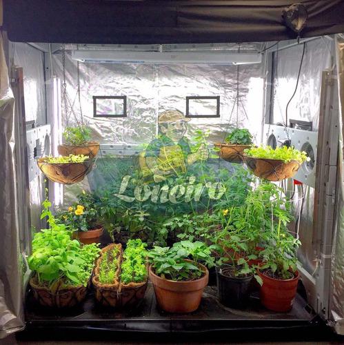 lona tecido metalizado monte estufa cultivo indoor grow led