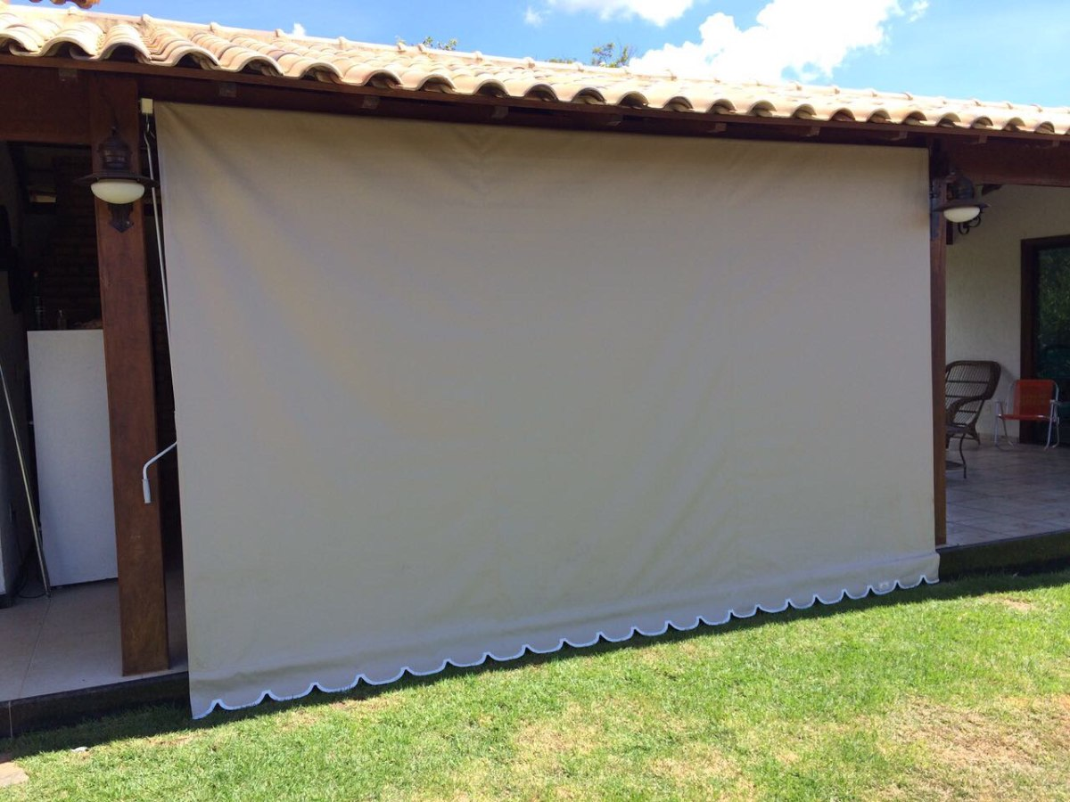 Lona tecido sint tico para toldo cortina retr til r 33 for Fabrica de herrajes para toldos