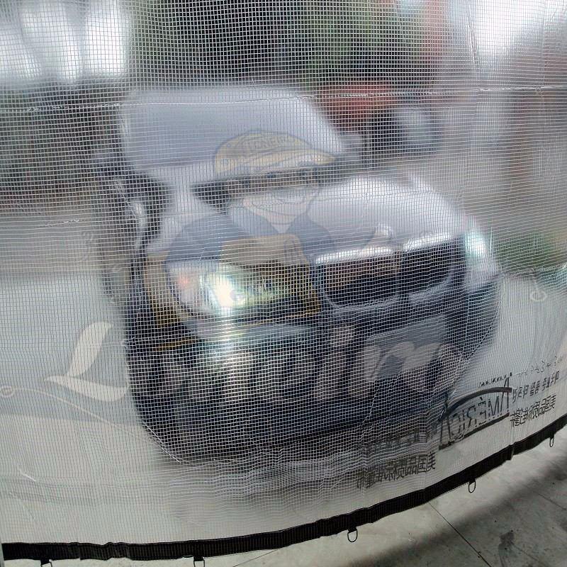 Lona transparente pvc 700 micras toldo cobertura tenda 5x5 - Lonas para el sol ...