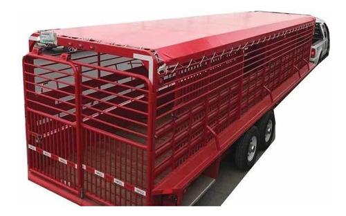 lona uso rudo 3 x 4 mts fortoflex c610 camionera c/ojillos