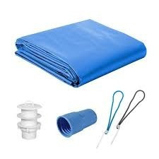 lonas de proteção para  piscina 6x12 500 micras