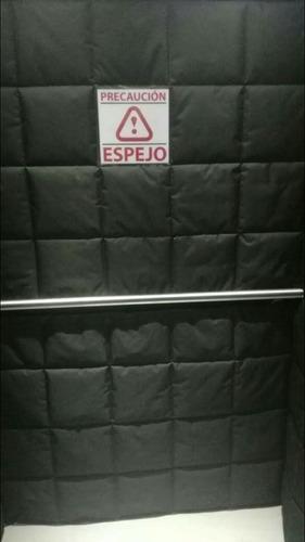 lonas protectoras para ascensores